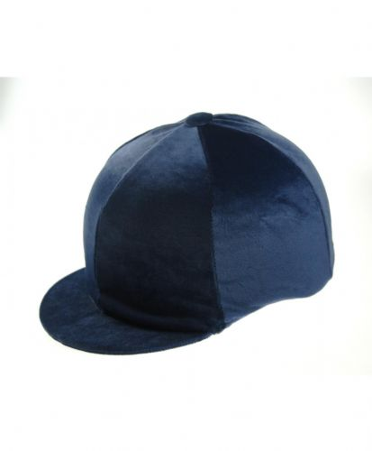 Capz Velour Hat Cover in Navy